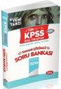 2016 KPSS Genel Kültür Genel Yetenek Özel Tek Kitap Tamamı Çözümlü Soru Bankası Data Yayınları