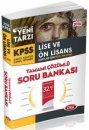 2016 KPSS Lise �nlisans �zel Tek Kitap Tamam� ��z�ml� Soru Bankas� Data Yay�nlar�