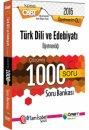 2016 ÖABT Türk Dili ve Edebiyatı Öğretmenliği Çözümlü 1000 Soru Bankası Öabt Okulu Yayınları