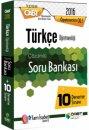 2016 ÖABT Türkçe Öğretmenliği Çözümlü Soru Bankası + 10 Deneme Sınavı Öabt Okulu Yayınları