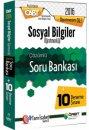 2016 ÖABT Sosyal Bilgiler Öğretmenliği Çözümlü Soru Bankası + 10 Deneme Sınavı Öabt Okulu Yayınları