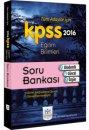 2016 KPSS Eğitim Bilimleri Soru Bankası Müfredat Yayınları