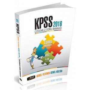 2016 KPSS Genel Kültür Genel Yetenek Çözümlü Soru Bankası Beyaz Kalem Yayınları