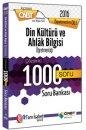 2016 ÖABT Din Kültürü ve Ahlak Bilgisi Öğretmenliği Çözümlü 1000 Soru Bankası Öabt Okulu Yayınları