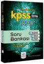 2016 KPSS Genel Yetenek Genel Kültür Soru Bankası Müfredat Yayınları