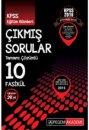2016 KPSS Eğitim Bilimleri 2007-2015 Tamamı Çözümlü 10 Fasikül Çıkmış Sorular Pegem Yayınları