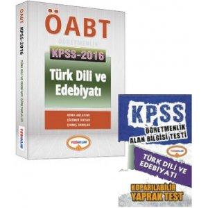 2016 ÖABT Türk Dili ve Edebiyatı Öğretmenliği Konu Anlatımlı Yediiklim Yayınları Hediyeli