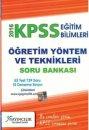 2016 KPSS E�itim Bilimleri ��retim Y�ntem ve Teknikleri Soru Bankas� X Yay�nlar�