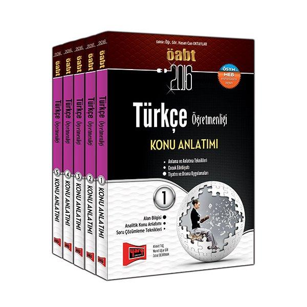 2016 ÖABT Türkçe Öğretmenliği Konu Anlatımlı Modüler Set Yargı Yayınları