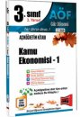 3.Sınıf 5.Yarıyıl Kamu Ekonomisi 1 Kod:5110 Yargı Yayınları
