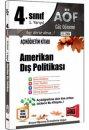 4. Sınıf 7.Yarıyıl Amerikan Dış Politikası Kod:7101 Yargı Yayınları