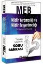 2016 MEB Müdür Yardımcılığı ve Müdür Başyardımcılığı Sınavlarına Hazırlık Tamamı Çözümlü Soru Bankası Filozof Yayıncılık