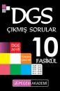 2018 DGS Tamamı Çözümlü 10 Fasikül Çıkmış Sorular Pegem Yayınları