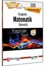2016 ÖABT Ortaöğretim Matematik Öğretmenliği Yaprak Test Öabt Okulu Yayınları
