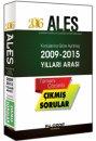 2016 ALES 2009 ile 2015 Arası Konu Konu Çözümlü Çıkmış Sorular Filozof Yayıncılık