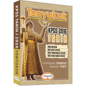 2016 KPSS Tonyukuk Tarih Konu Anlatımı Yediiklim Yayınları