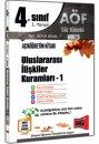 4. Sınıf 7. Yarıyıl Uluslararası İlişkiler Kuramları 1 Kod:7120 Yargı Yayınları