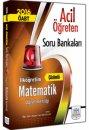 2016 ÖABT İlköğretim Matematik Öğretmenliği Çözümlü Soru Bankası Müfredat Yayınları