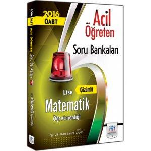 2016 ÖABT Lise Matematik Öğretmenliği Çözümlü Soru Bankası Müfredat Yayınları