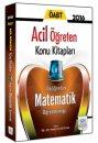 2016 ÖABT İlköğretim Matematik Öğretmenliği Acil Öğreten Konu Kitabı Müfredat Yayınları