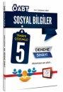 2016 ÖABT Sosyal Bilgiler Tamamı Çözümlü 5 Deneme Sınavı 657 Yayınları