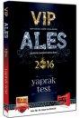 2016 ALES VIP Yaprak Test Yargı Yayınları