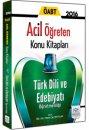 2016 ÖABT Türk Dili ve Edebiyatı Öğretmenliği Acil Öğreten Konu Kitabı Müfredat Yayınları