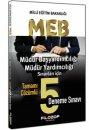 2016 MEB Müdür Başyardımcılığı ve Müdür Yardımcılığı Tamamı Çözümlü 5 Deneme Sınavı Filozof Yayıncılık
