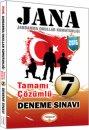 2016 JANA Tamamı Çözümlü 7 Deneme Yediiklim Yayınları