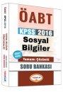 2016 ÖABT Sosyal Bilgiler Öğretmenliği Tamamı Çözümlü Soru Bankası Yediiklim Yayınları