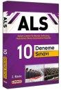 2016 ALS Askeri Liseler ile Bando Astsubay Hazırlama Okulu Sınavlarına Hazırlık 10 Deneme Sınavı Arge Yayınları
