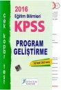 2016 KPSS Eğitim Bilimleri Program Geliştirme Çek Kopar Yaprak Test X Yayınları