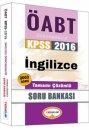 2016 ÖABT İngilizce Öğretmenliği Tamamı Çözümlü Soru Bankası Yediiklim Yayınları