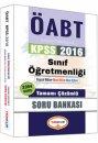 2016 ÖABT Sınıf Öğretmenliği Tamamı Çözümlü Soru Bankası Yediiklim Yayınları