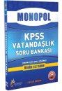 2016 KPSS Vatandaşlık Tamamı Açıklamalı Çözümlü 637 Soru Monopol Yayınları