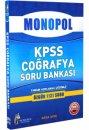 2016 KPSS Coğrafya Tamamı Çözümlü Soru Bankası Monopol Yayınları
