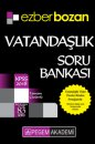 2018 KPSS Vatandaşlık Ezberbozan Soru Bankası Pegem Yayınları