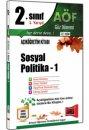 2.S�n�f 3.Yar�y�l Sosyal Politika 1 Kod:3158 Yarg� Yay�nlar�