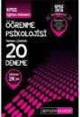 2016 KPSS E�itim Bilimleri ��renme Psikolojisi Tamam� ��z�ml� 20 Deneme Pegem Yay�nlar�