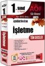 1. S�n�f 1. Yar�y�l ��letme T�m Dersler Kod:1010 Yarg� Yay�nlar�