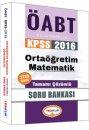 2016 ÖABT Ortaöğretim Matematik Öğretmenliği Tamamı Çözümlü Soru Bankası Yediiklim Yayınları