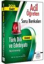2016 ÖABT Türk Dili ve Edebiyatı Öğretmenliği Acil Öğreten Çözümlü Soru Bankası Müfredat Yayınları