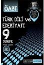 2016 ÖABT Türk Dili ve Edebiyatı Öğretmenliği Tamamı Çözümlü 9 Deneme Sınavı Pegem Yayınları