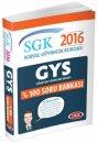 2016 GYS SGK Sosyal Güvenlik Kurumu Soru Bankası Data Yayınları