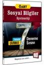 2016 ÖABT Sosyal Bilgiler Öğretmenliği Tamamı Çözümlü 7 Deneme Sınavı 657 Yayınları