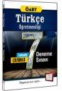 2016 ÖABT Türkçe Öğretmenliği Tamamı Çözümlü 7 Deneme Sınavı 657 Yayınları