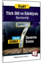 2016 ÖABT Türk Dili ve Edebiyatı Öğretmenliği Tamamı Çözümlü 7 Deneme Sınavı 657 Yayınları