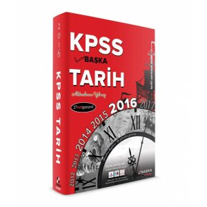 2016 KPSS Bam Başka Tarih Konu Anlatımlı Kitap Başka Yayıncılık