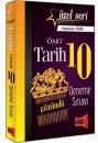 2016 ÖABT Tarih Öğretmenliği Özel Seri Çözümlü 10 Deneme Sınavı Yargı Yayınları