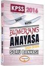 2016 KPSS Bumerang Anayasa Tamamı Çözümlü Soru Bankası Yediiklim Yayınları